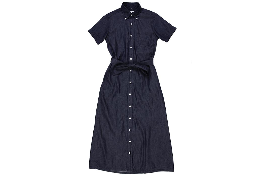 Engineered-Garments-FWK-BD-Shirt-Dress-front