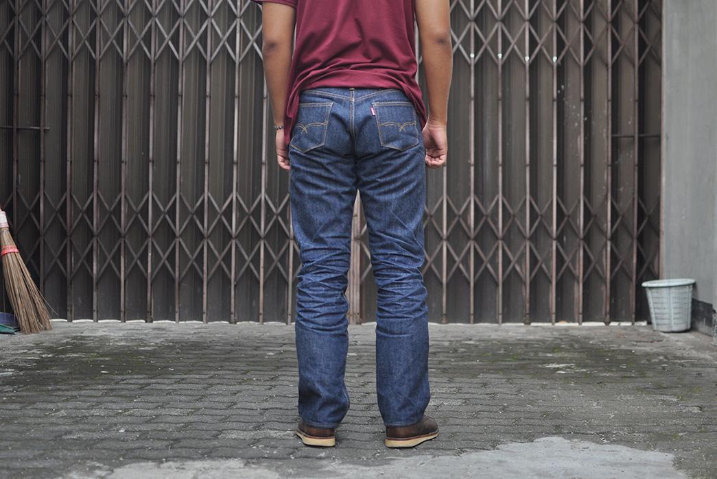 Fade-Friday---Oldblue-Co.-Indonesian-Selvedge-19-oz.-(16-Months,-1-Wash,-1-Soak)-model-back
