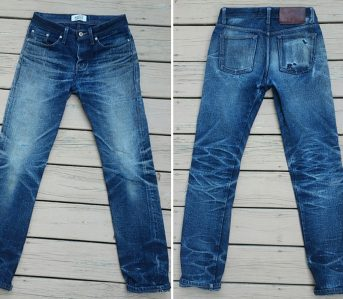 Fade-of-the-Day---Naked-&-Famous-Okayama-Spirit-2-(14-Months,-4-Washes,-2-Soaks)-front-back