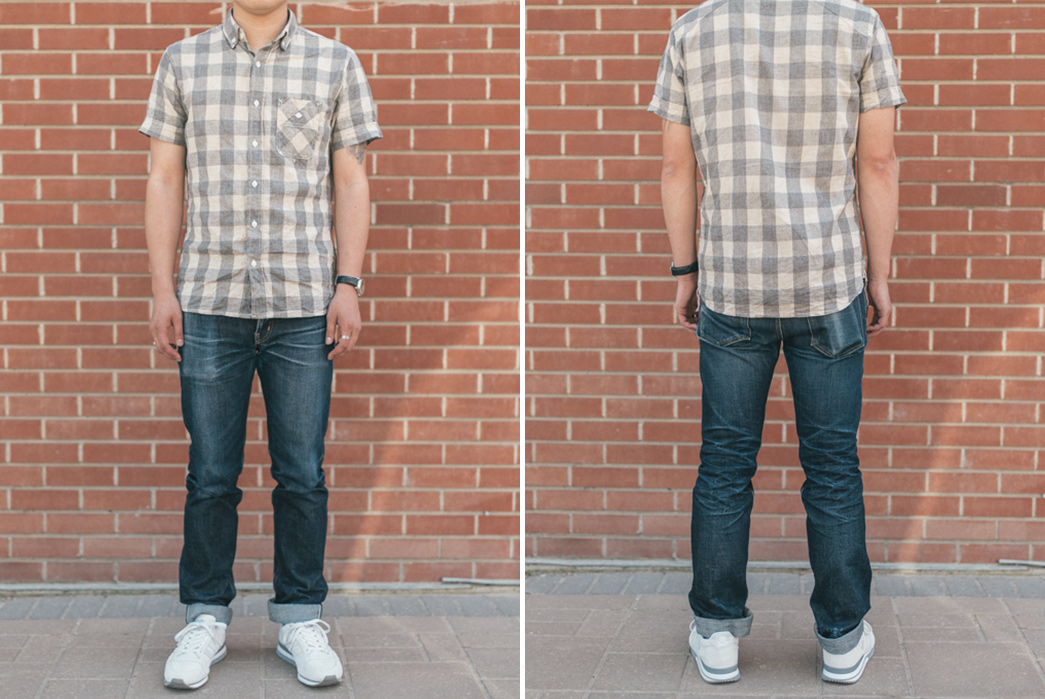 Fade-of-the-Day---Olé-Denim-306-(16-Months,-3-Washes)-model-front-back