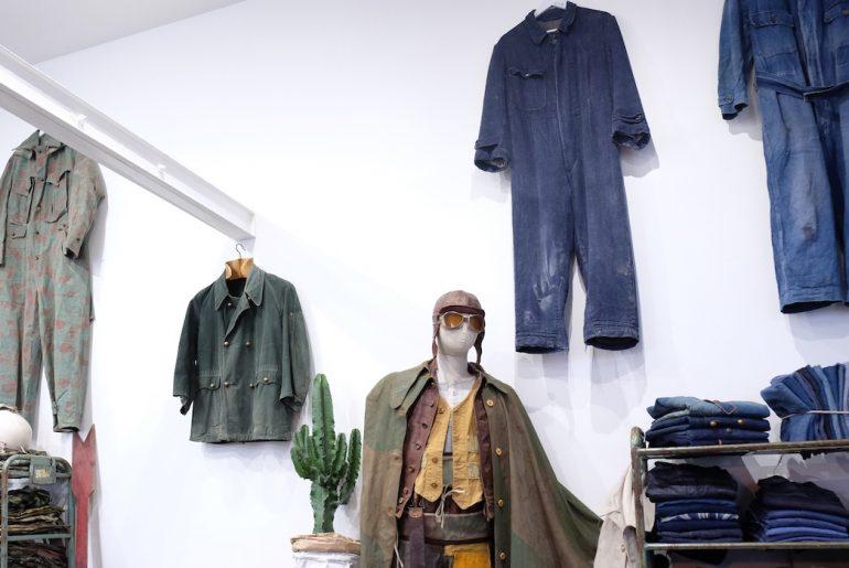 Inside the Brut Clothing showroom in Paris