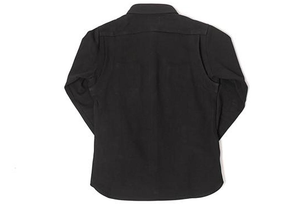 Nine-Lives-Heavyweight-Chino-Twill-Work-Shirt-back-black