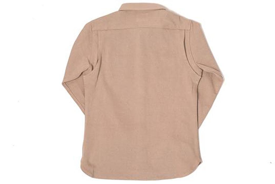 Nine-Lives-Heavyweight-Chino-Twill-Work-Shirt-back-khaki