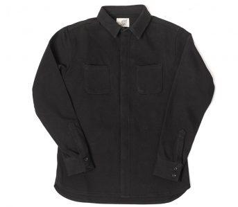 Nine-Lives-Heavyweight-Chino-Twill-Work-Shirt-black-front