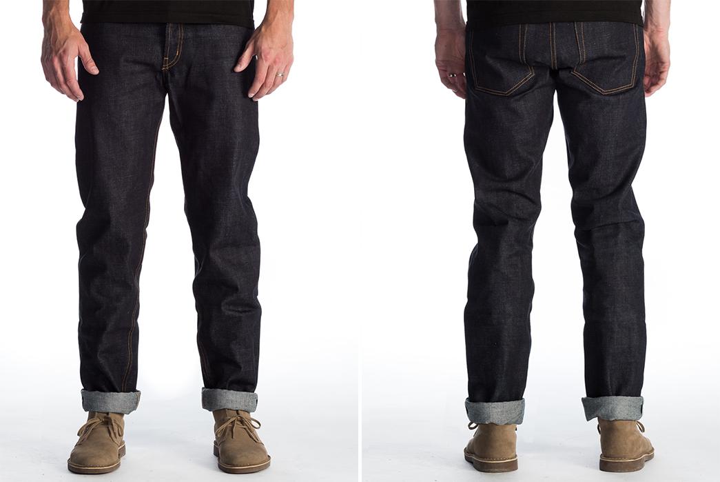 Olé-Denim-306-Raw-Selvedge-Denim-Jeans-front-back