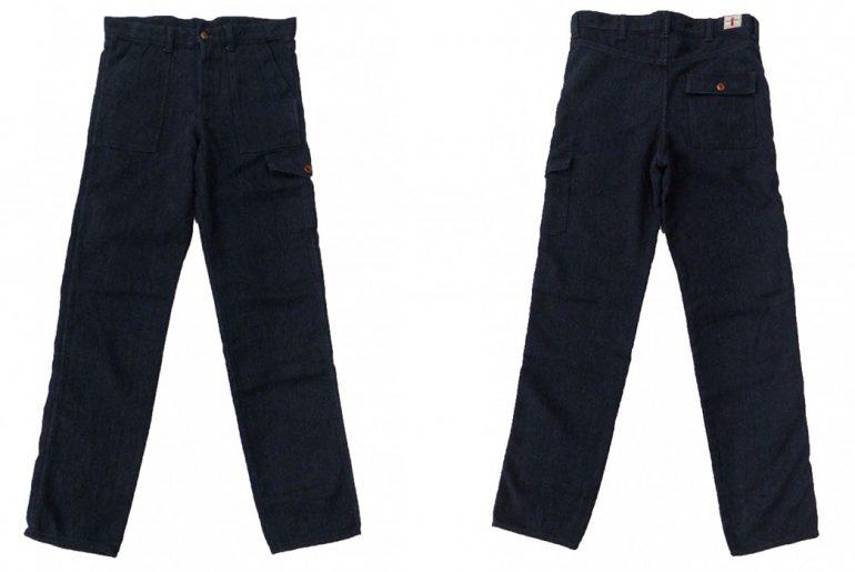 Samurai-SJAP17-SK-Sashiko-Army-Pants-front-back