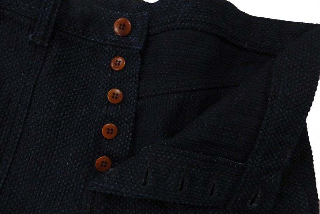 Samurai SJAP17-SK Sashiko Army Pants