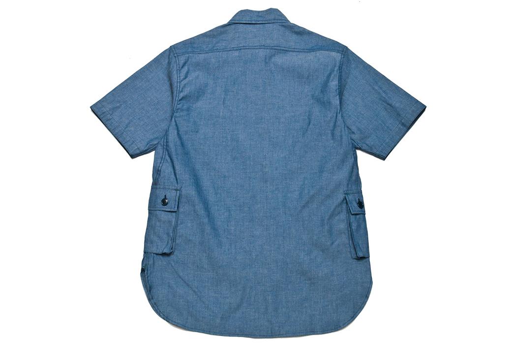 Sassafras-1-2-Chambray-G.D.U.-Shirt-back