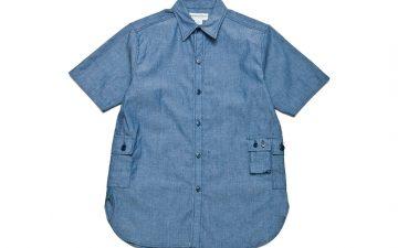 Sassafras-1-2-Chambray-G.D.U.-Shirt-front