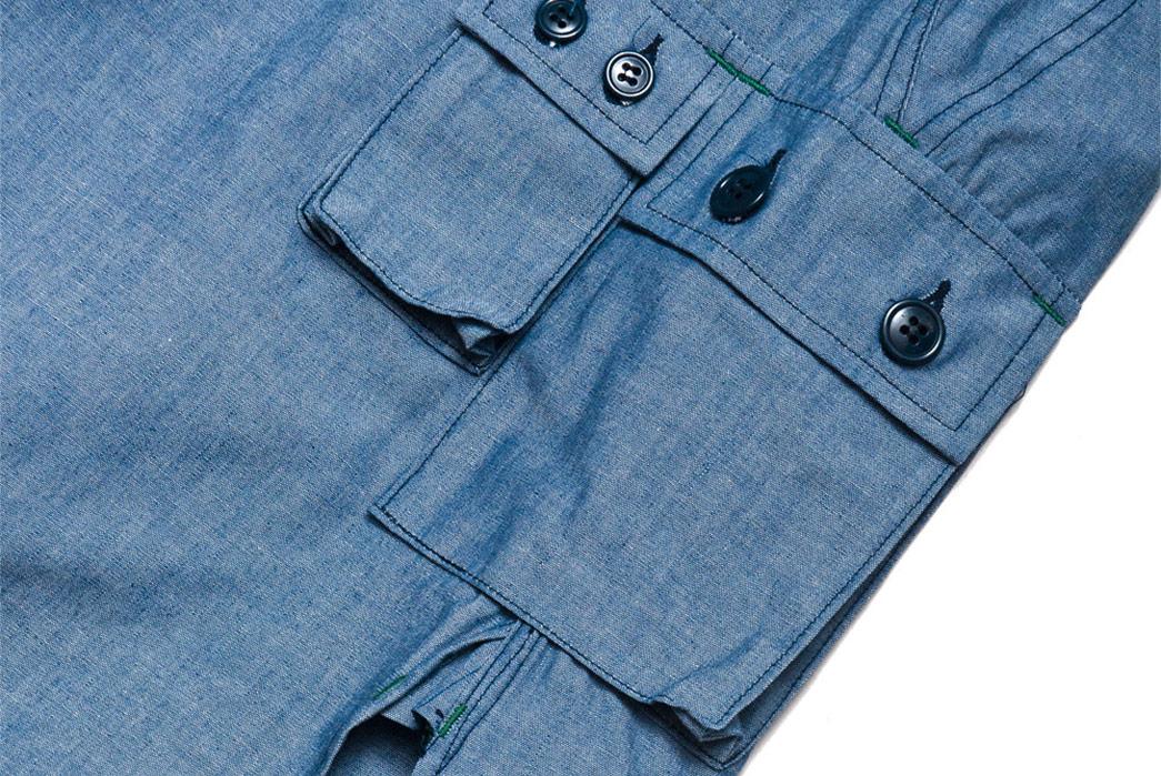 Sassafras-1-2-Chambray-G.D.U.-Shirt-front-pockets