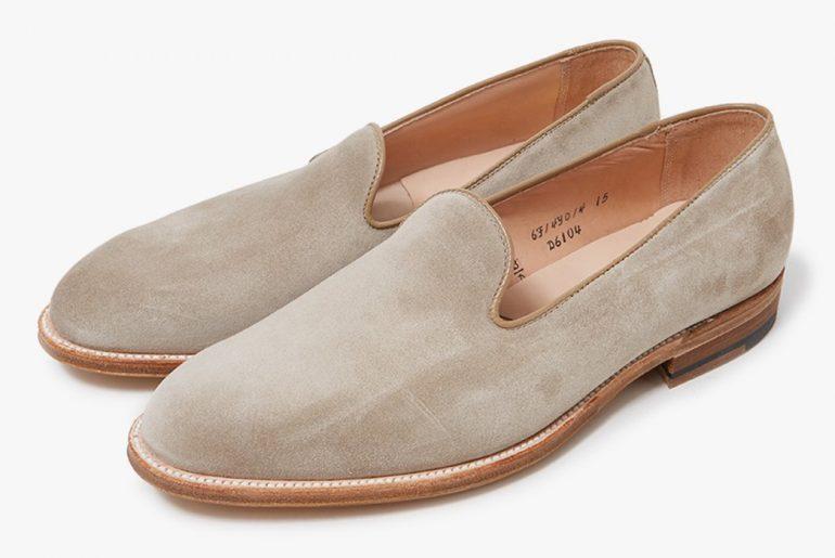 Slipper-Style-Loafers---Five-Plus-One-4)-Alden-Harvie-Slip-On-in-Milkshake-pair-</a>