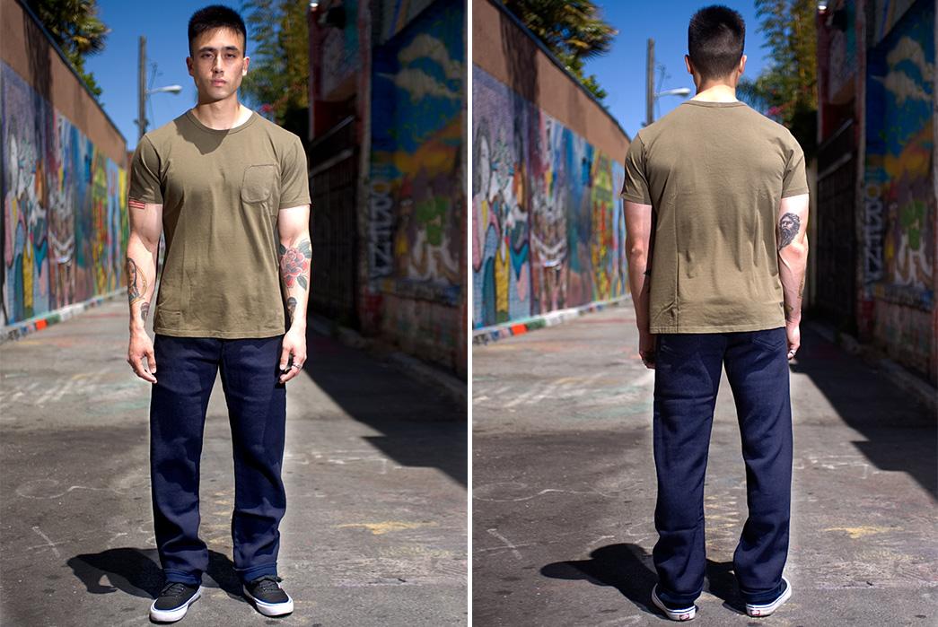 Studio-D'artisan-Indigo-Dyed-Sashiko-Jeans-front-back