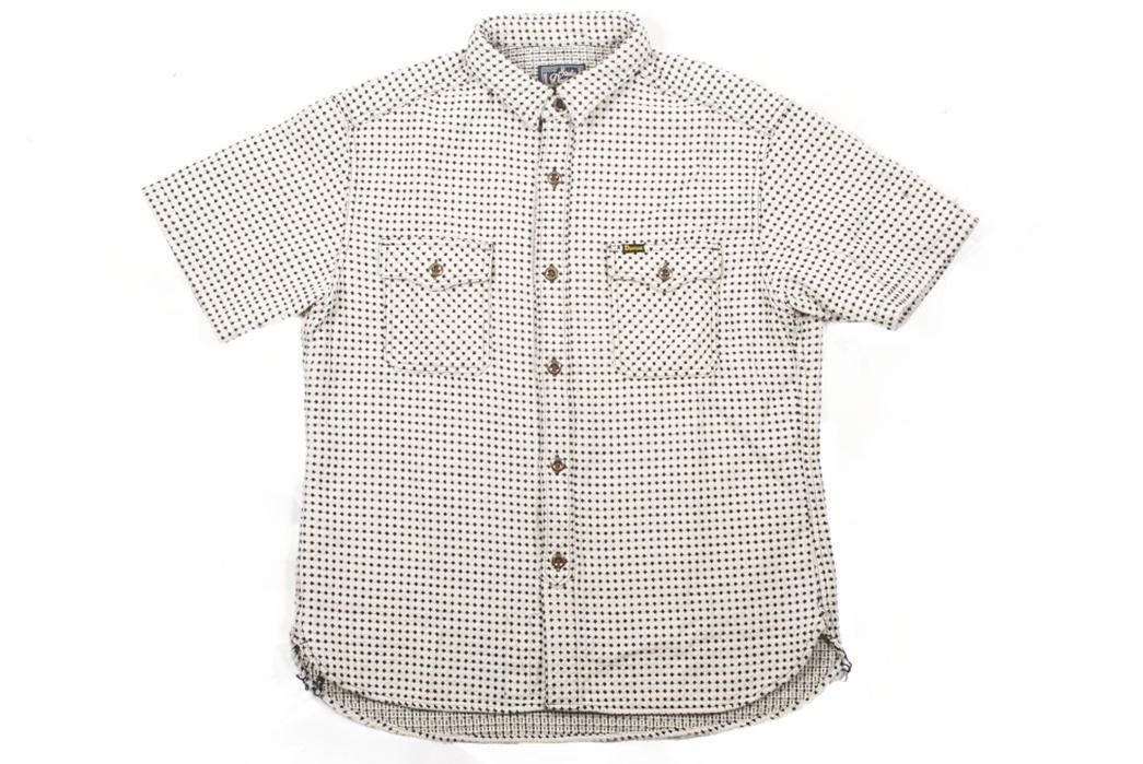 Studio-D'artisan-Strawberry-Cough-Dobby-Short-Sleeve-Shirt-front