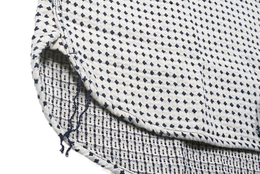 Studio-D'artisan-Strawberry-Cough-Dobby-Short-Sleeve-Shirt-selvedge-and-string
