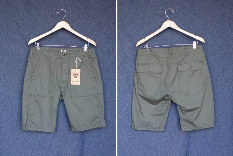 Tellason-8.5oz.-Cotton-Twill-Fatigue-Shorts-olive-front-back</a>