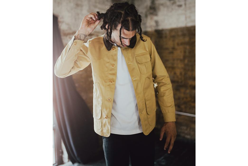3sixteen-Fall-Winter-2017-Lookbook-male-in-yellow-jacket