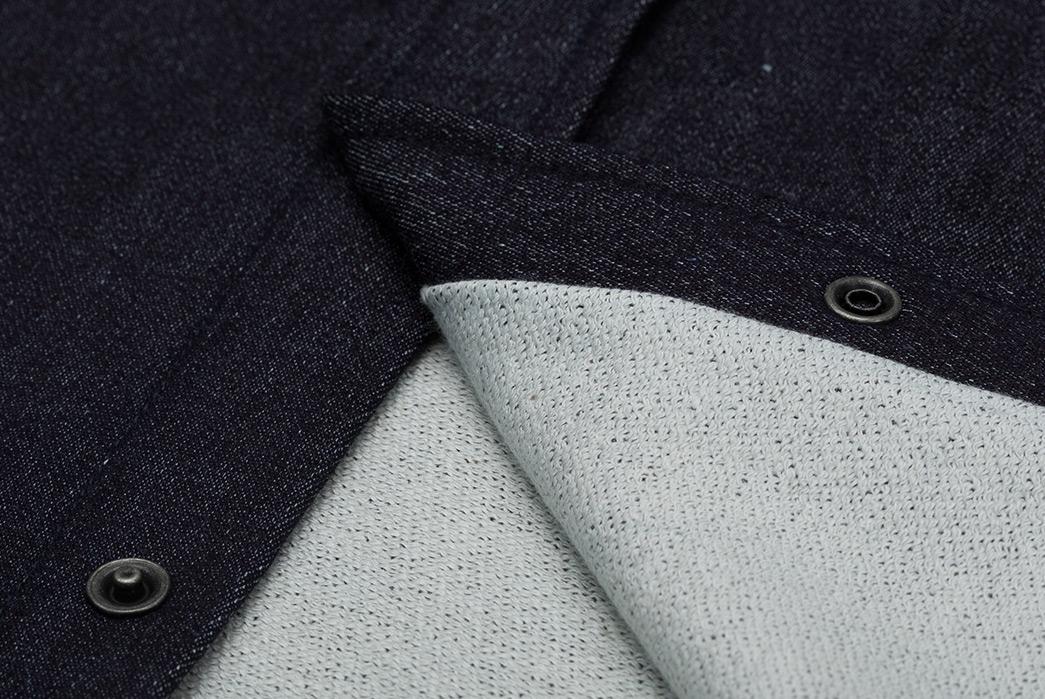 3sixteen-Selvedge-Indigo-Knit-Crosscut-Flannel-detailed