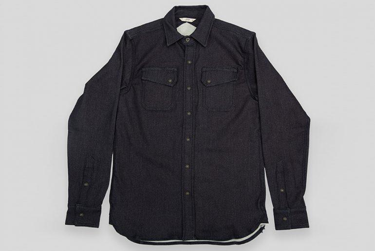 3sixteen-Selvedge-Indigo-Knit-Crosscut-Flannel-front