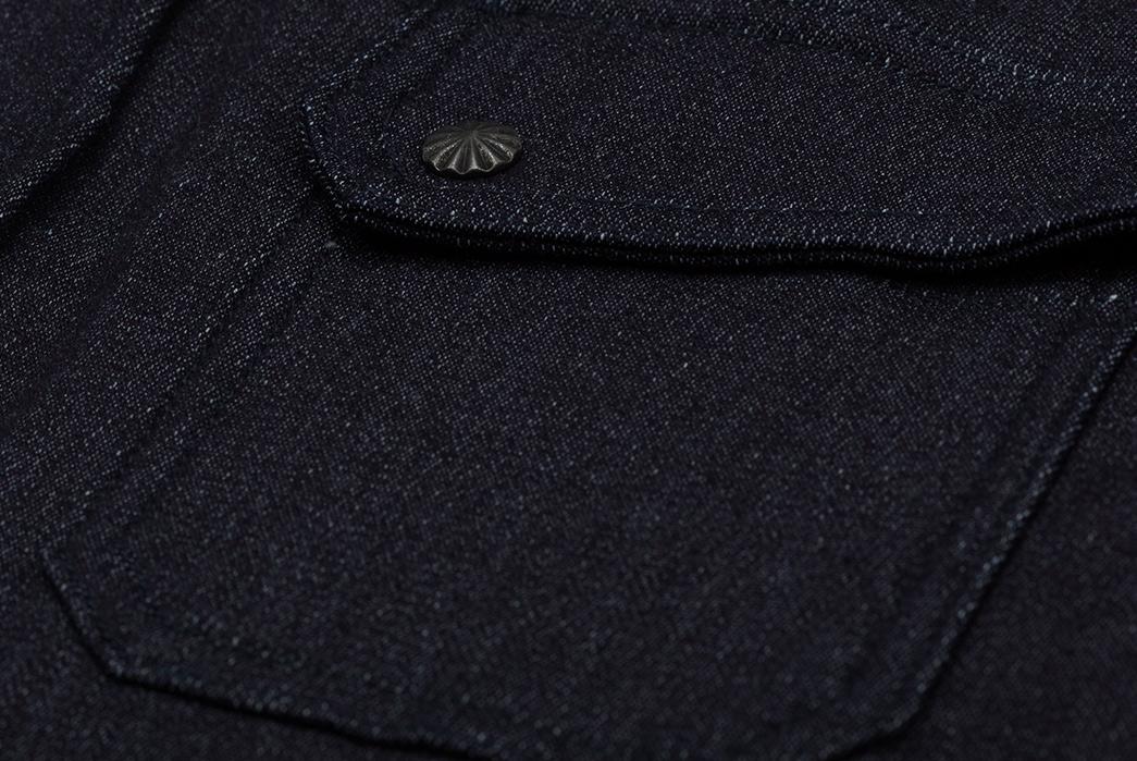 3sixteen-Selvedge-Indigo-Knit-Crosscut-Flannel-front-pocket