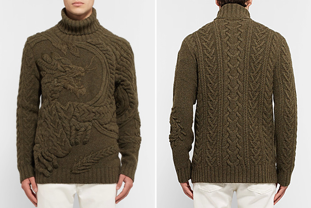 Cable-Knit-Sweaters---Five-Plus-One-Plus-One---Ralph-Lauren-Purple-Label-Dragon