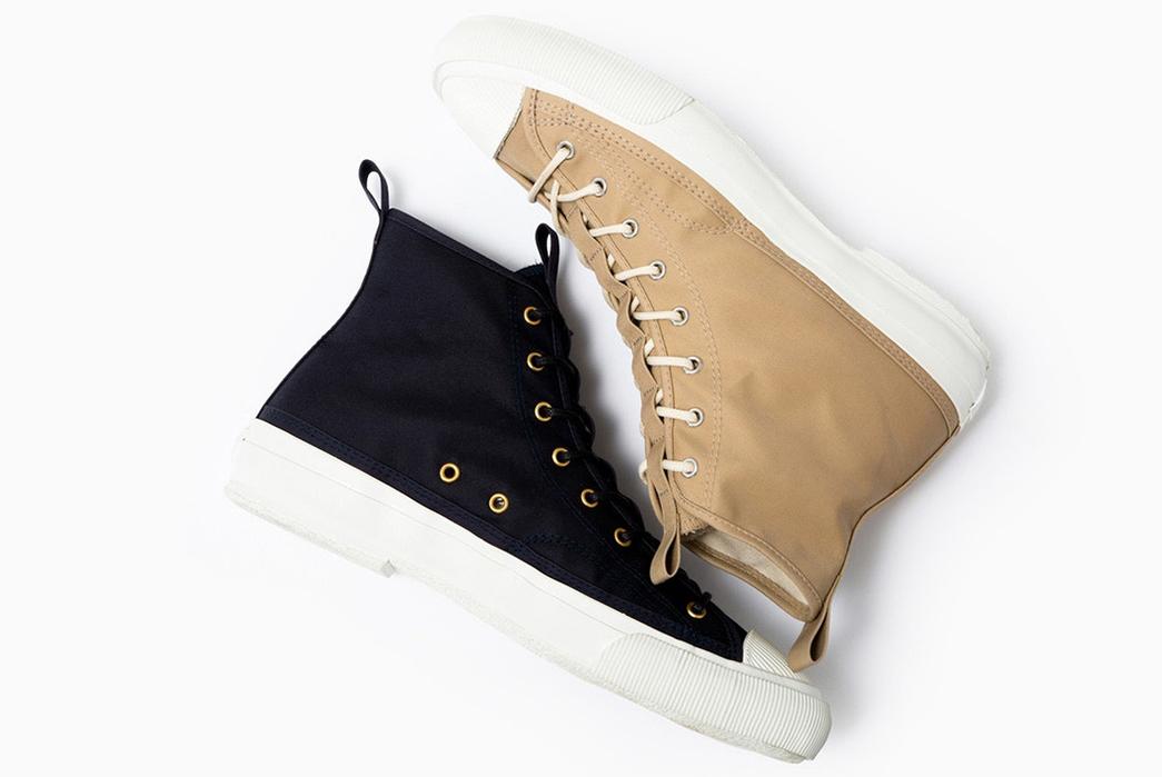 Champion-Sneaks-into-Made-in-Japan-Footwear-blue-beige