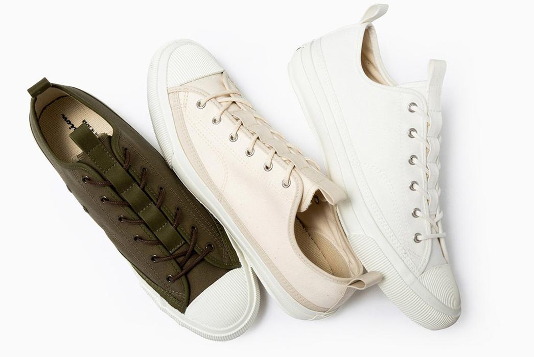 Champion-Sneaks-into-Made-in-Japan-Footwear-green-beige-white-2