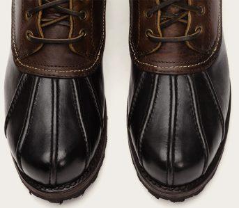 Duck-Boots---Five-Plus-One-2)-Frye-Warren-Duck-Boot-pair-front-top