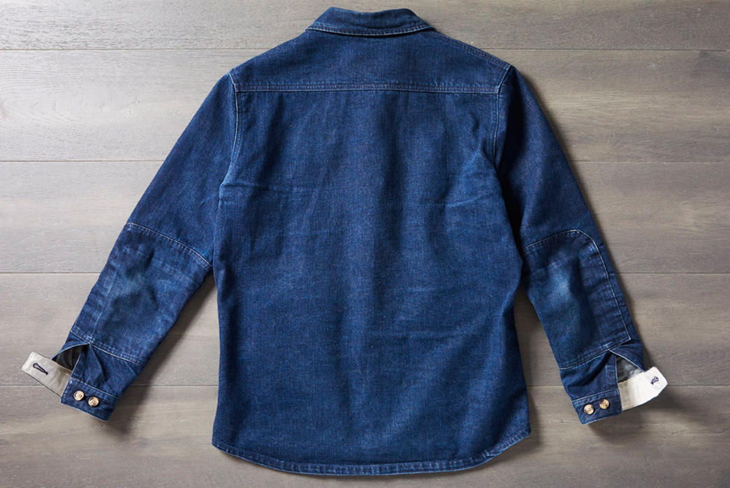 Fade-of-the-Day---Dehen-1920-Crissman-Overshirt-(9-Months,-3-Washes)-back