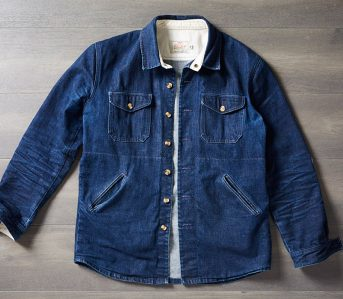 Fade-of-the-Day---Dehen-1920-Crissman-Overshirt-(9-Months,-3-Washes)-front