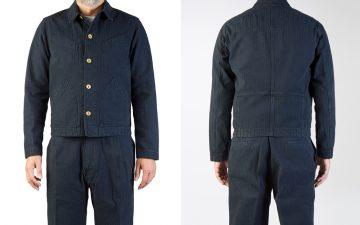 Hansen-Herringbone-Laust-Work-Jacket-front-back
