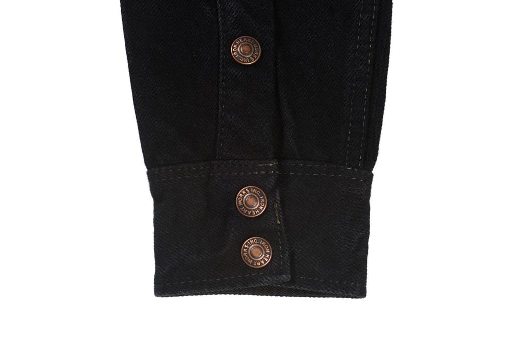 Iron-Heart-18oz.-Overdyed-Denim-CPO-Shirt-(With-Hand-Pockets!)-sleeve