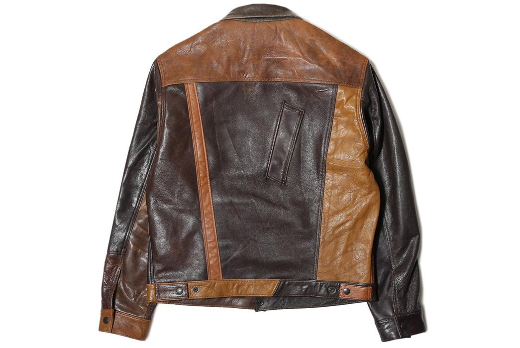 Needles-Rebuild-Leather-Jean-Jacket-back