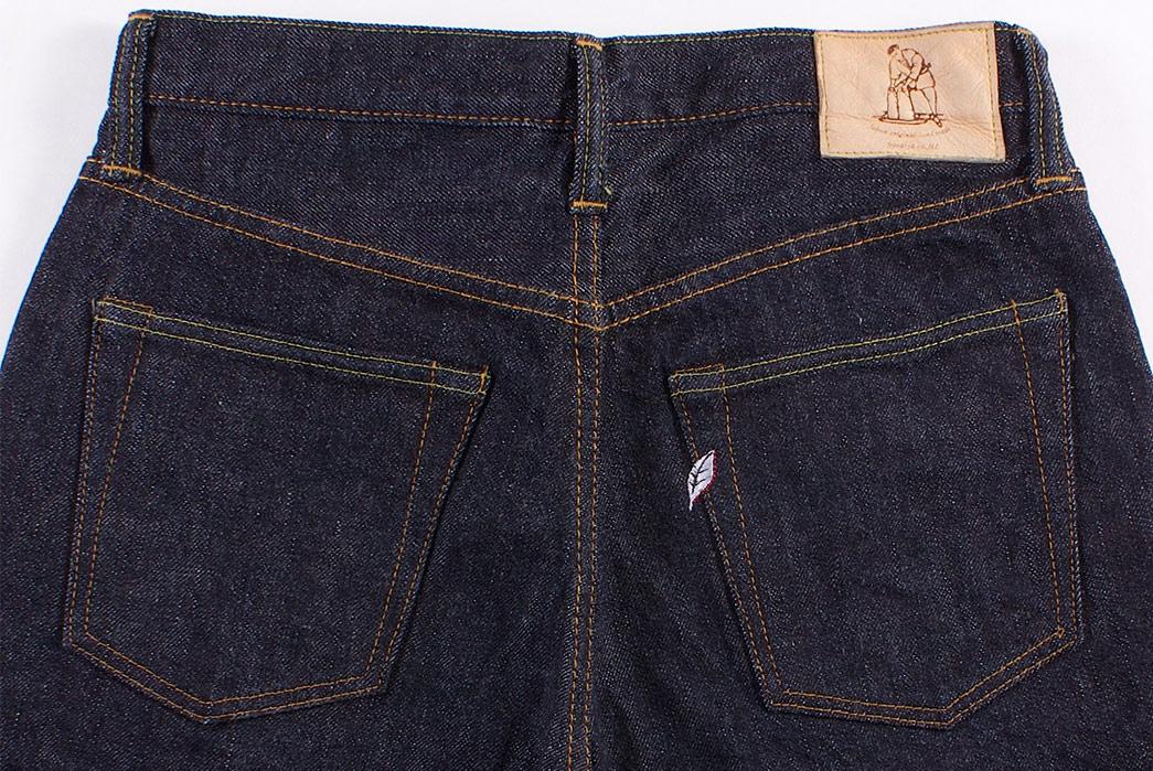 Pure-Blue-Japan-PBE-019-17.5oz.-Pop-Up-Beige-Selvedge-Jeans-back-top
