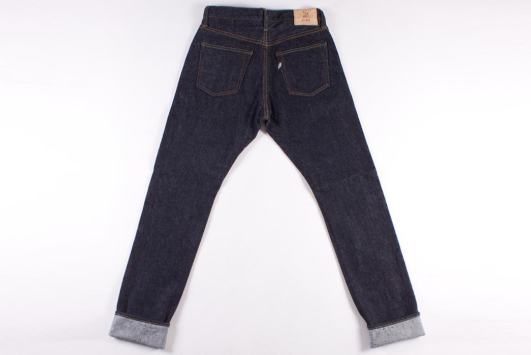 Pure-Blue-Japan-PBE-019-17.5oz.-Pop-Up-Beige-Selvedge-Jeans-back