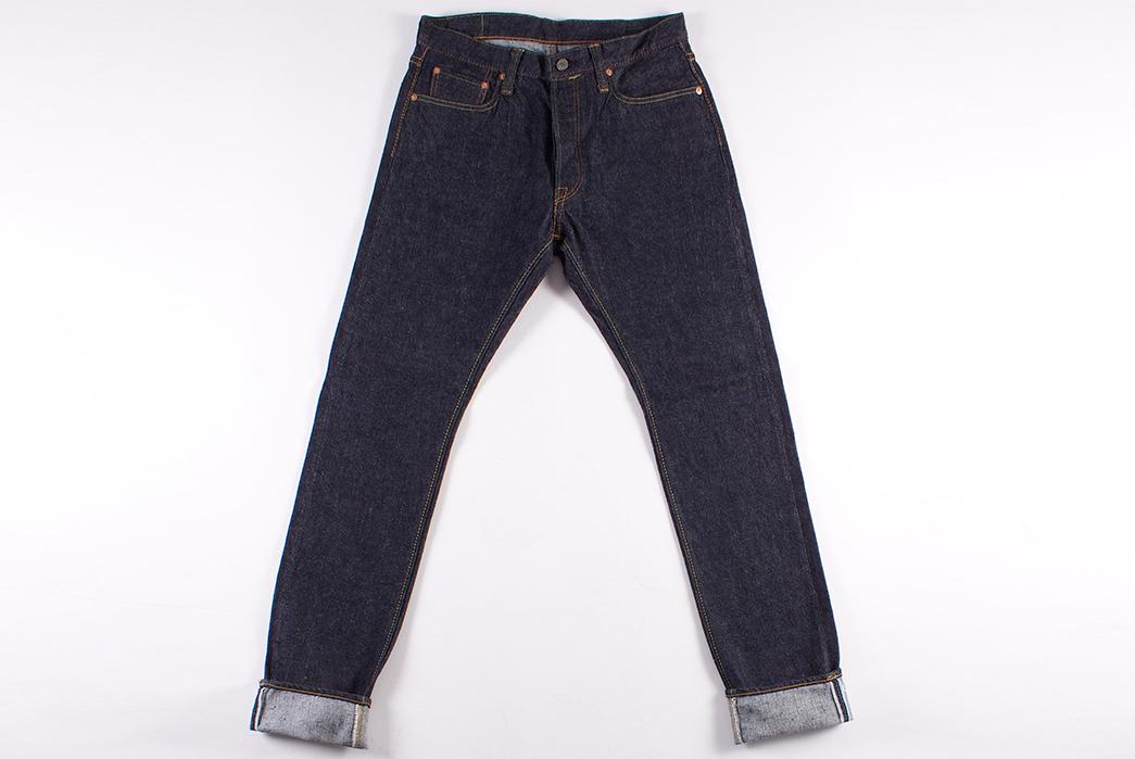 Pure-Blue-Japan-PBE-019-17.5oz.-Pop-Up-Beige-Selvedge-Jeans-front