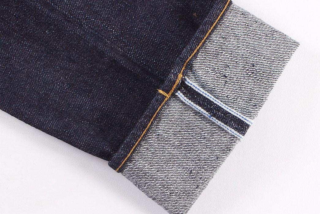 Pure-Blue-Japan-PBE-019-17.5oz.-Pop-Up-Beige-Selvedge-Jeans-leg-selvedge