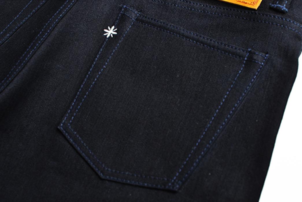 Sage-Rover-14oz.-Indigo-x-Black-Jeans-back-right-pocket