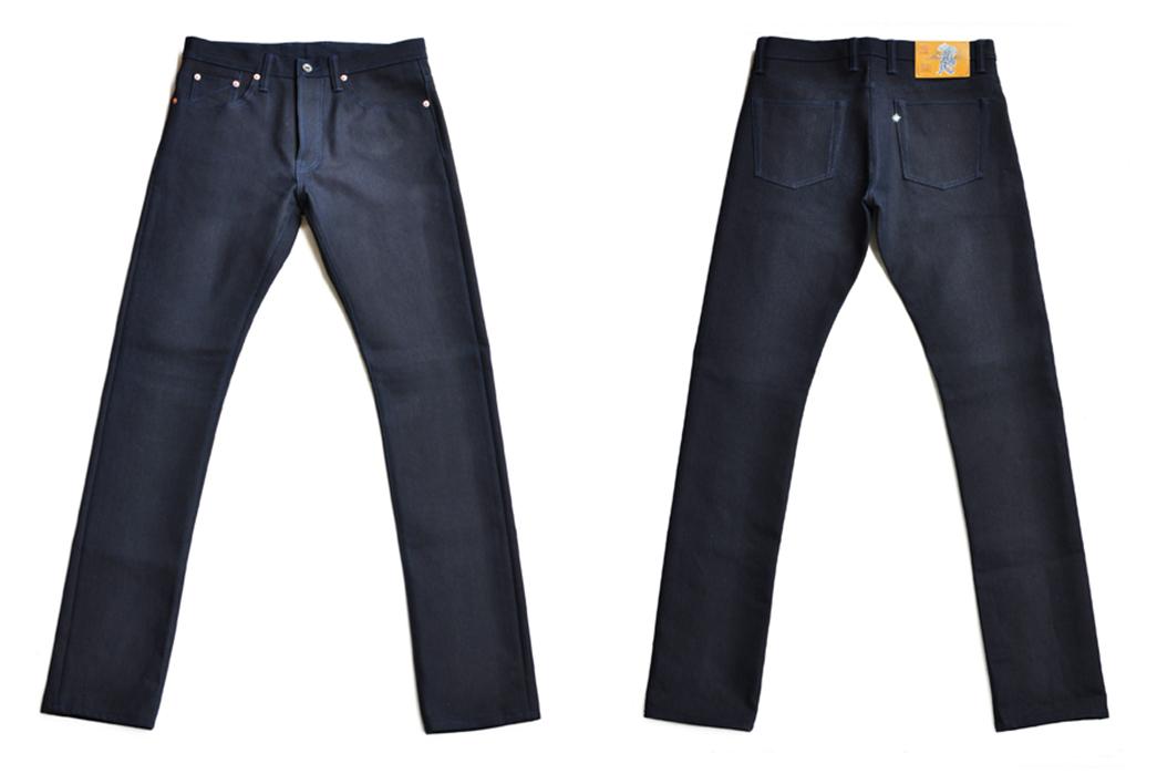 Sage-Rover-14oz.-Indigo-x-Black-Jeans-front-back