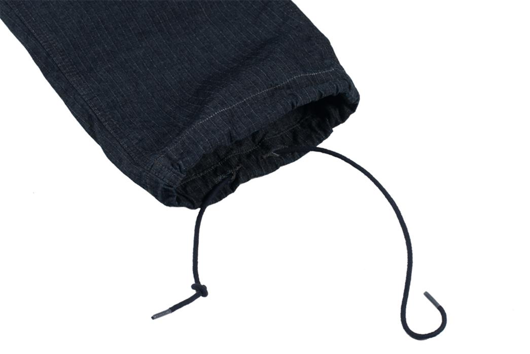Stevenson-'Recon'-Fatigue-Trousers-leg-selvedge