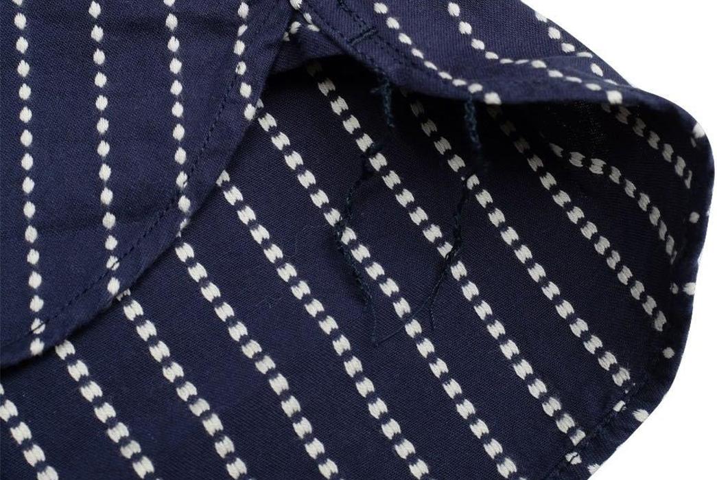 Studio-D'artisan-5596-Dobby-Sashiko-Work-Shirt-selvedge--and-string