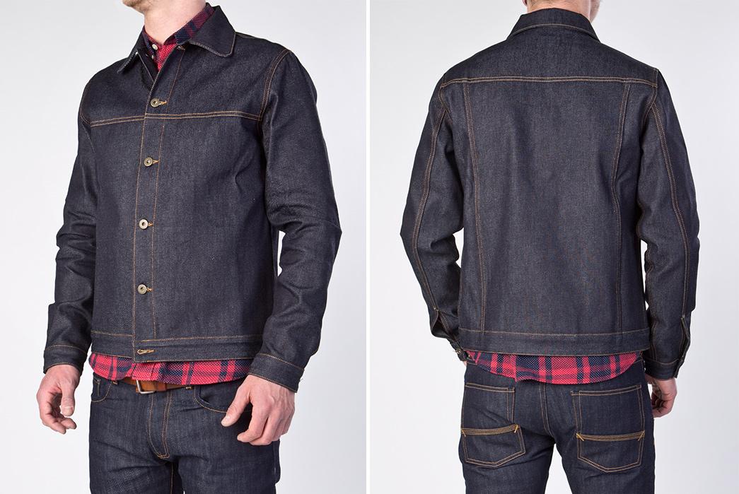 Unique-Trucker-Jackets---Five-Plus-One-3)-Livid-Jeans-Edvin-Japan-Dry-Jacket