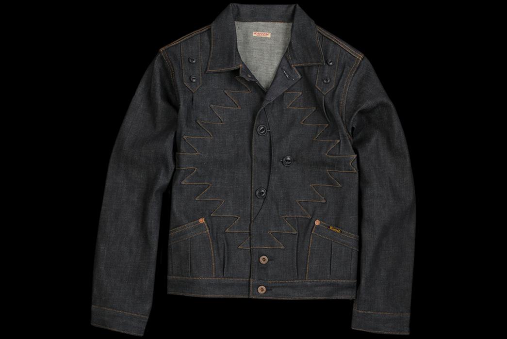 Unique-Trucker-Jackets---Five-Plus-One-Plus-One---Kapital-St.-Domingo-Thunderbird-Jacket