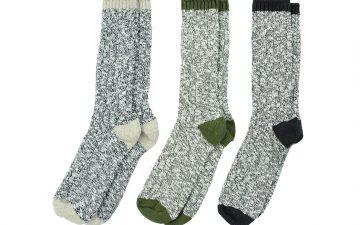 American-Trench-Slub-Socks-grey-green-blue