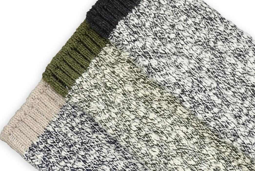 American-Trench-Slub-Socks-grey-green-blue-detailed