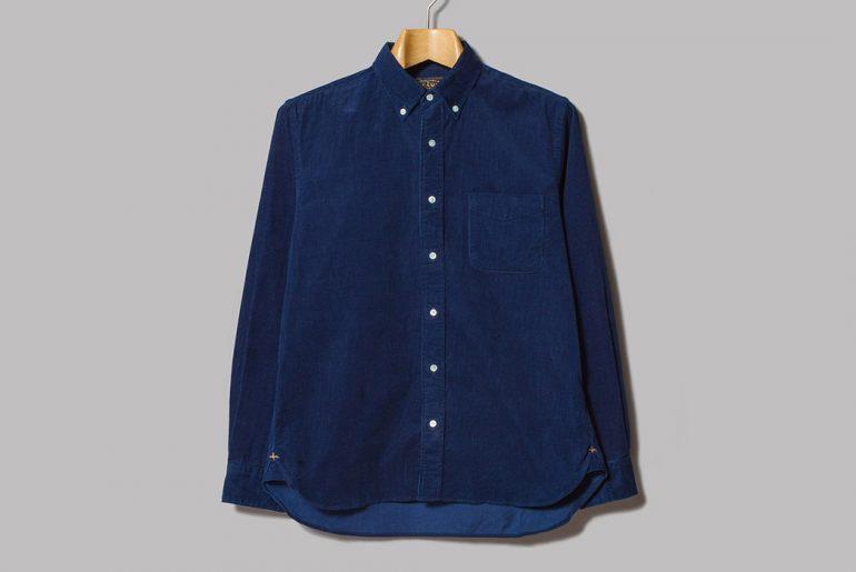 Beams-Plus-Made-in-Japan-Indigo-Corduroy-Button-Down-Shirt-front</a>
