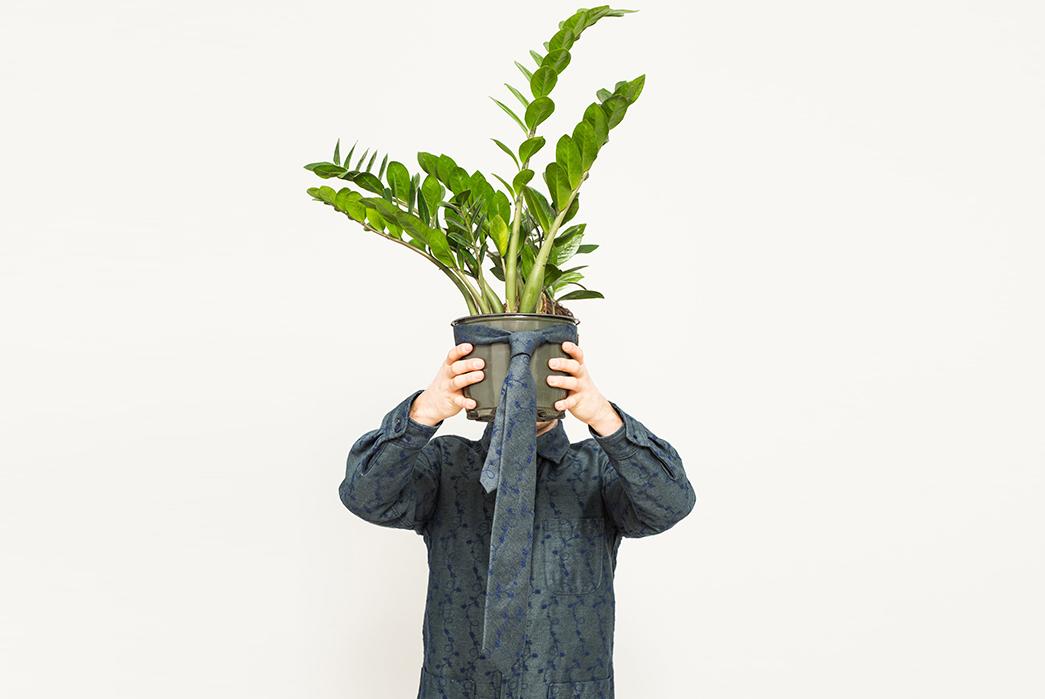Corridor-Autumn-Winter-2017-Lookbook-male-with-plant