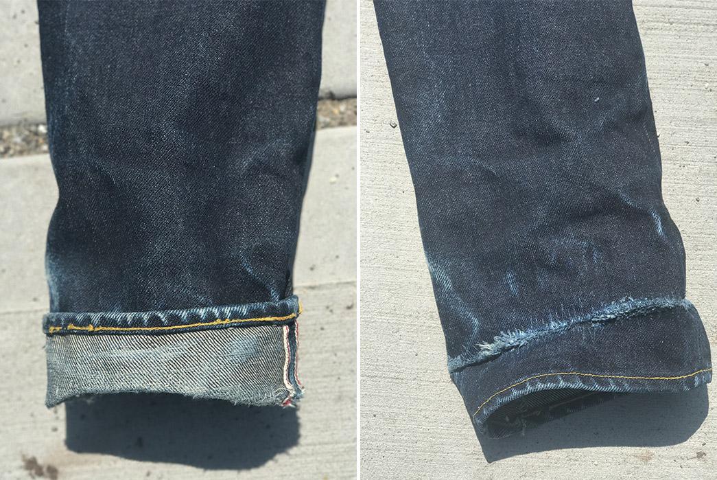 Fade-of-the-Day---Samurai-S710xx24OZ-(21-Months,-1-Wash)-leg-selvedge