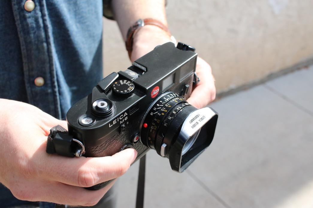 Ross Evertson, Leica M6 Rangefinder – Item Number One