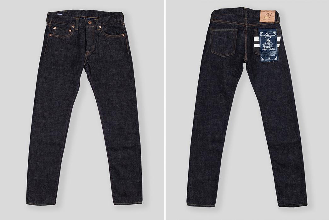 Momotaro-0305TN-10th-Anniversary-Raw-Denim-Jeans-front-back