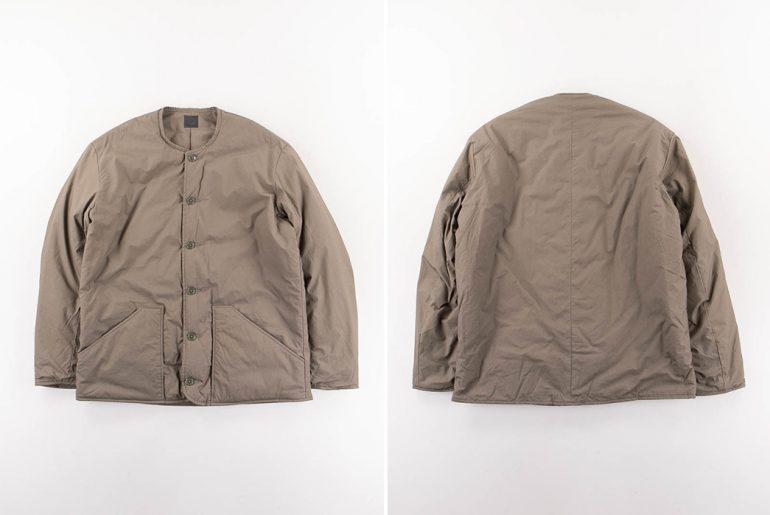 orSlow-Made-in-Japan-Greige-Shell-Jacket-front-back